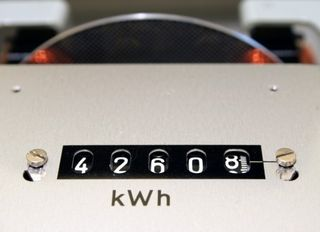 Kwh utility counter electricity