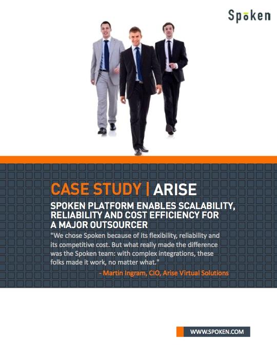 Arise case study thumbnail